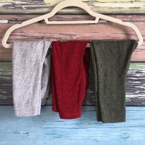 3 pairs of super soft Old Navy pants